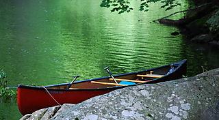 Canoe rest