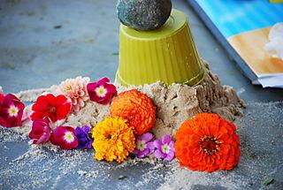 My flower cake