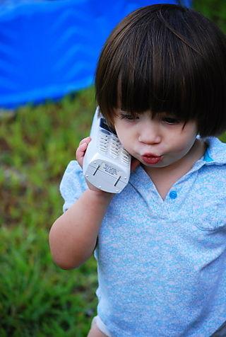 Barrett on the phone