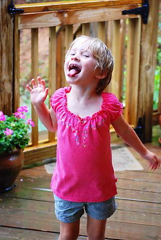 Rain on my tongue