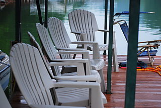 Chairs on the dock