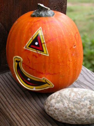 Cyclops pumpkin