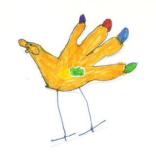Owen's hand turkey