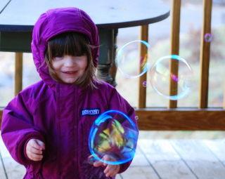 Barrett's birthday bubbles