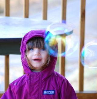 Barrett's birthday bubbles 2