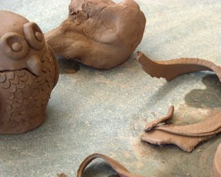 Playing around with clay