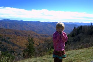 Another shot of my girl at Waterrock Knob