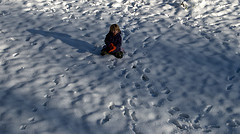 Owen in the snow