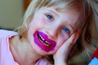 """Lipstick"" face"