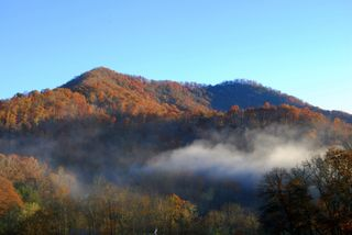 Beautiful morning view