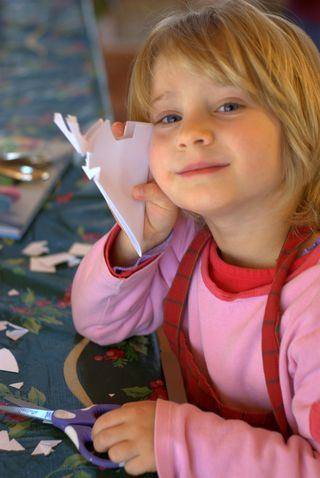 Cutting paper