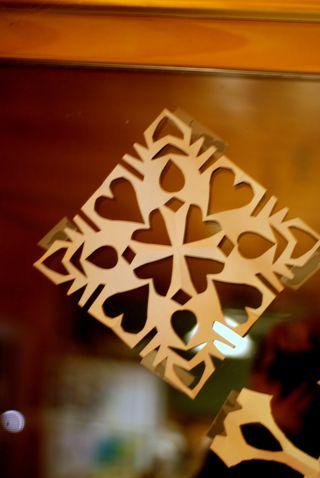 Snowflake Hearts