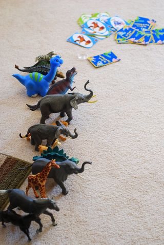 Go Fish and Dinosaurs