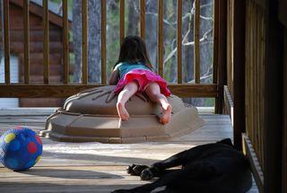 Lazy porch time