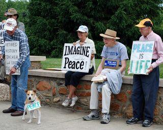 Peace Demonstrators
