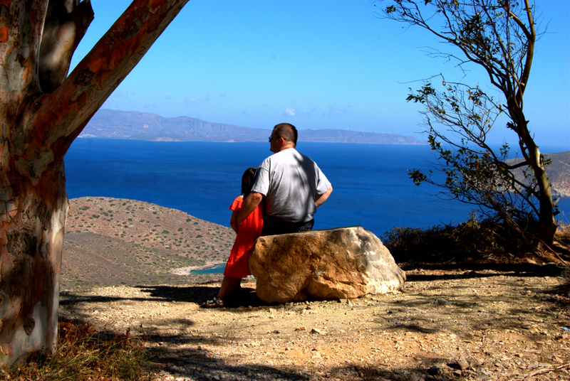 Paul & Barrett overlooking the Aegean Sea